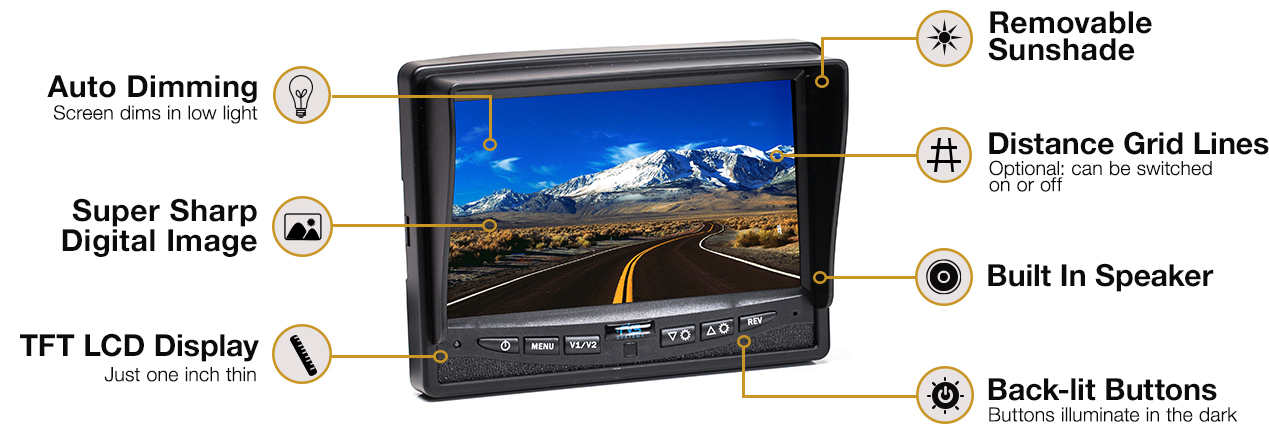 Rearview Safety RVS-770613 rear view camera