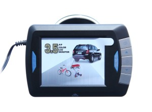 Peak rear view camera